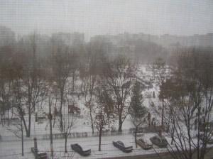 Sneeuw in Titan, december '09