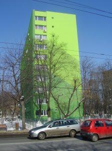 De groene flat