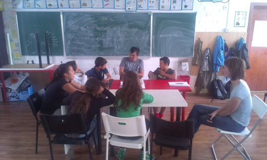 klasje journalistiek in Ferentari